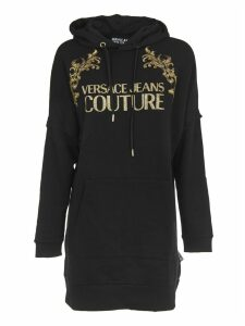 Versace Jeans Couture Black Long Sweatshirt