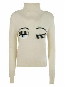 Chiara Ferragni Flirting Turtleneck Sweater