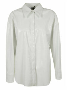 MSGM Crocodile-effect Shirt