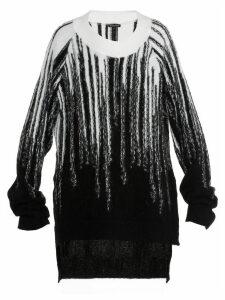 Ann Demeulemeester Intarsia Sweater
