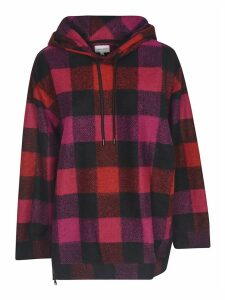 Woolrich Checked Hoodie