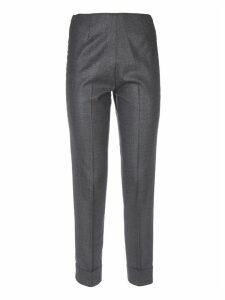 Lamè Grey Trousers