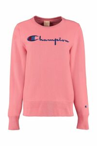 Champion Cotton Crew-neck Sweatshirt