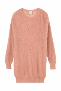 LAutre Chose Mohair Blend Crew-neck Sweater