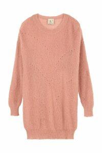 LAutre Chose Mohair Blend Crew-neck Sweater