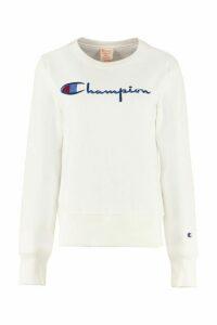 Champion Cotton Crew-neck Sweatshirt