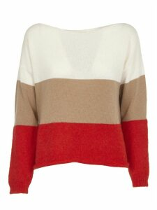 SEMICOUTURE Multicolor Striped Sweater