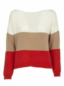 SEMICOUTURE Multicolor Striped Sweater