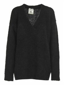 SEMICOUTURE Black Long Sweater