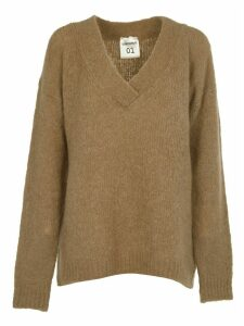 SEMICOUTURE Beige Long Sweater