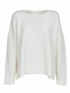 SEMICOUTURE White Wool Sweater