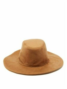 House Of Lafayette - Marco Cashmere Fedora Hat - Womens - Beige
