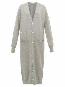 Extreme Cashmere - No. 125 Coco Longline Stretch-cashmere Cardigan - Womens - Grey