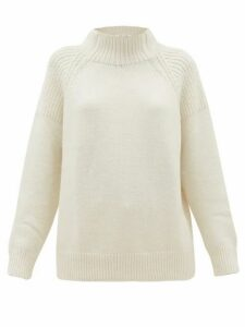 Frame - High-neck Sweater - Womens - Ivory