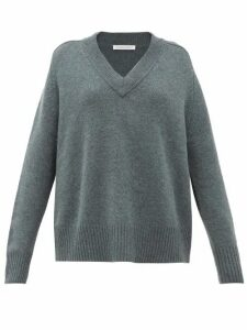Extreme Cashmere - No.124 Vital Stretch-cashmere Sweater - Womens - Khaki