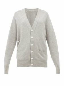 Extreme Cashmere - No.117 Stretch Cashmere Cardigan - Womens - Grey