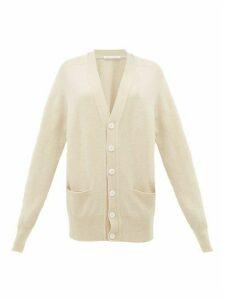 Extreme Cashmere - No. 117 Stretch-cashmere Cardigan - Womens - Ivory