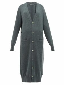 Extreme Cashmere - No. 125 Coco Long-line Stretch-cashmere Cardigan - Womens - Khaki