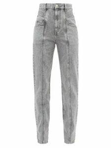 Isabel Marant Étoile - Henoya Boyfriend Jeans - Womens - Grey