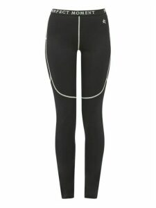 Perfect Moment - Thermal Technical Jersey Leggings - Womens - Black