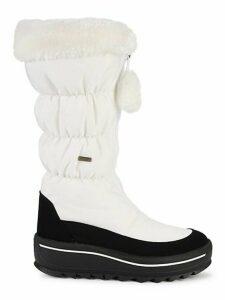 Tegan Faux Fur-Trim Snow Boots