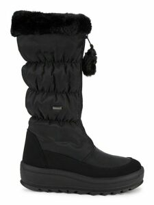 Tegan Faux Fur Quited Snow Boots