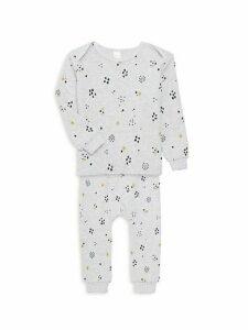 Baby Boy's 2-Piece Printed Cotton Pajama Top & Pants Set