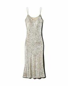 Whistles Dagma Sequined Slip Dress