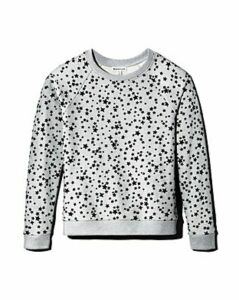 Whistles Flocked Star Sweatshirt