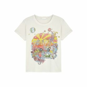 Mother Little Goodie Goodie Printed Cotton T-shirt