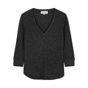 Wildfox Leroy Grey Jersey Sweatshirt