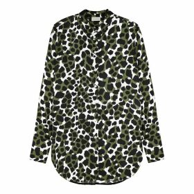 BY MALENE BIRGER Cologne Printed Satin Blouse