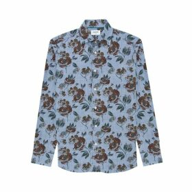 DUCHAMP LONDON Gardena Floral Print Shirt