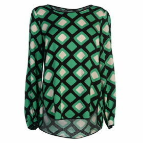 Marc Aurel Marc Print Long Sleeve Top