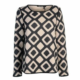 Marc Aurel Marc Print Rib Top