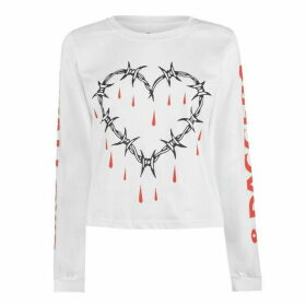 Swallows and Daggers Love Hurts Long Sleeve T Shirt