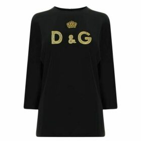 Dolce and Gabbana Crown Logo Top