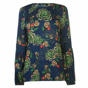 Marc Aurel Floral Long Sleeve Top