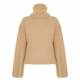 Kendall and Kylie Neck Knitted Sweatshirt