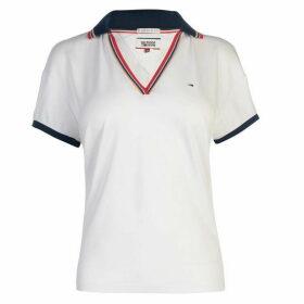 Hilfiger Denim Striped Edge Polo Shirt