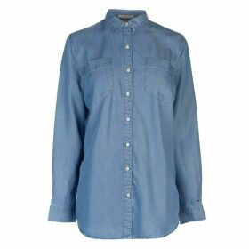 Hilfiger Denim Boyfriend Denim Shirt