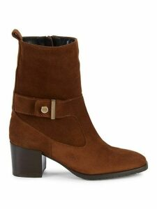 Collette Suede Booties