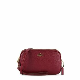 Coach Sadie Red Leather Cross-body Bag