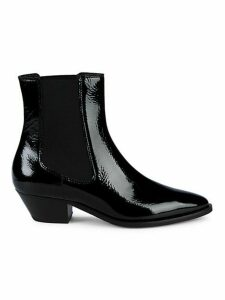 Kathryn Patent Leather Booties