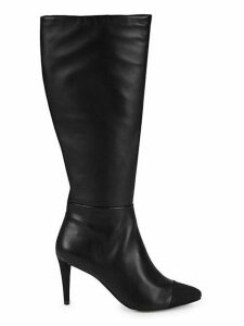 Knee-High Leather Tall Boots
