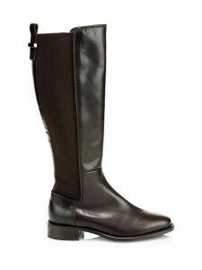 Nastia Leather Knee-High Boots