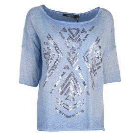 Marc Aurel Marc Embellished Slub Sweater
