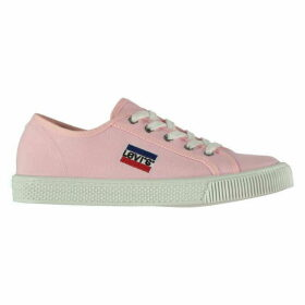 Levis Malibu Logo Canvas Trainers