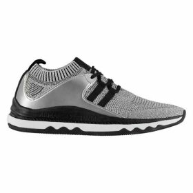 Armani Exchange Metallic Knit Trainers