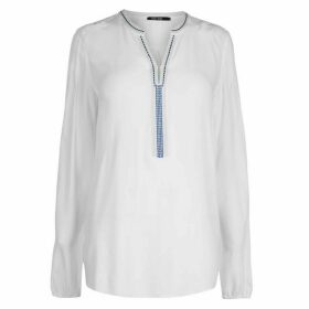 Marc Aurel Marc Embroidered Front Shirt
